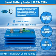 FIRE SALE: Victron SMART Battery Protect 12/24V-220A - 5 Year Warranty