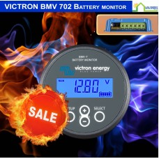 FIRE SALE: Victron BMV 702 Battery monitor complete kit allows monitoring of 2 Batteries