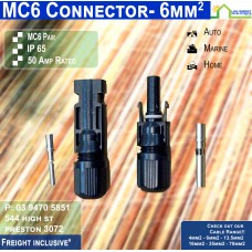 MC6 Connectors - PAIR