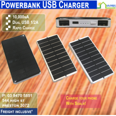 PowerBank Solar USB Charger