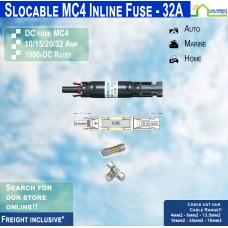 MC4 Inline Fuse Holder + 32amp Fuse
