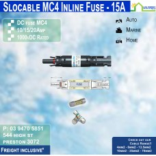 MC4 Inline Fuse Holder + 15amp Fuse