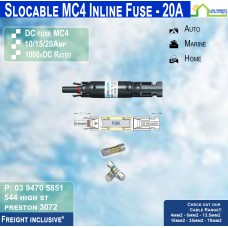 MC4 Inline Fuse Holder + 20amp Fuse