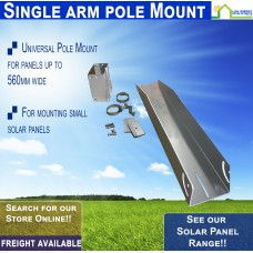 Single Arm Pole Mount Bracket upto 560mm