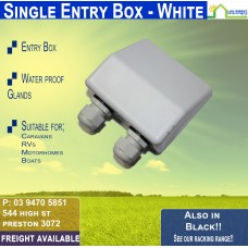 White Entry Box