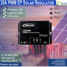 20a Waterproof Regulator EP Solar Land Star IP67