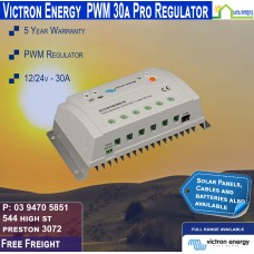 Victron 12-24V 30A PWM Solar Charge Controller