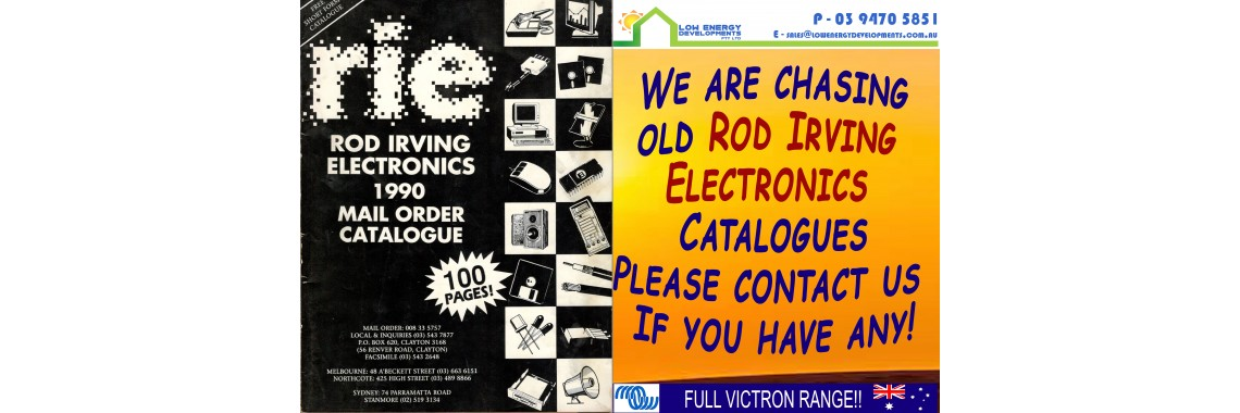 Rod Irving Electronics Catalogue