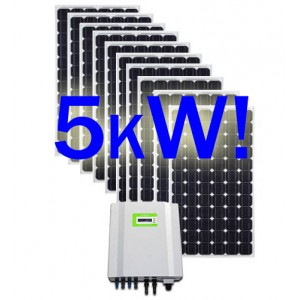 5kW Solar Kit !! 26 x 190W + 5kW Inverter