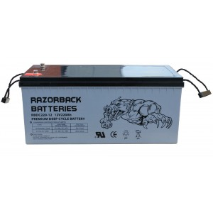 Deep Cycle Battery 12V AGM 220Ah
