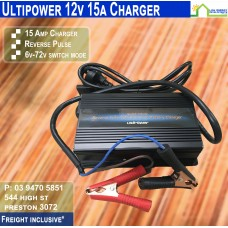 Ultipower 15a 12v Battery Charger