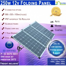 250w Folding Panel - Freight Inclusive