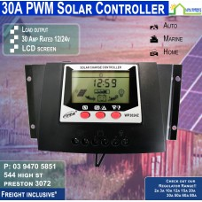 30a PWM Regulator with LCD