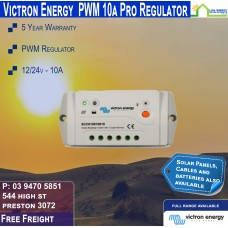 Victron 12-24V 10A PWM Solar Charge Controller