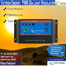 Victron 12-24V 20A Light PWM Solar Charge Controller