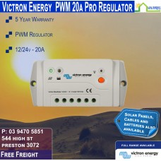 Victron 12-24V 20A PWM Solar Charge Controller