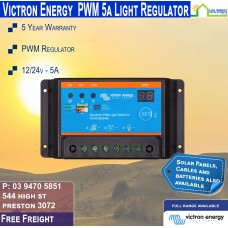Victron 12-24V 5A PWM Solar Charge Controller